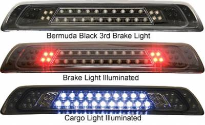 Headlights & Tail Lights - Third Brake Lights - In Pro Carwear - Toyota Tundra In Pro Carwear LED Third Brake Light