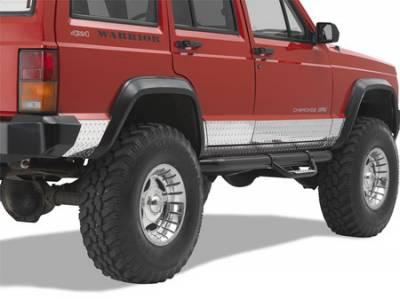 Cherokee - Body Armor - Warrior - Jeep Cherokee Warrior Side Plates