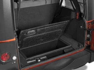 Wrangler - Body Kit Accessories - Warrior - Jeep Wrangler Warrior Expanded Storage Trunk - No Lid - 2210