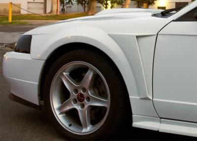 Mustang - Body Kit Accessories - Xenon - Ford Mustang Xenon Front Fender Reverse Scoop - Urethane - Left & Right - 12800