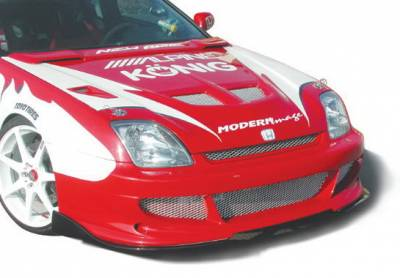 Prelude - Body Kit Accessories - Wings West - Honda Prelude Wings West Bigmouth Splitter Set - 2PC - 890632