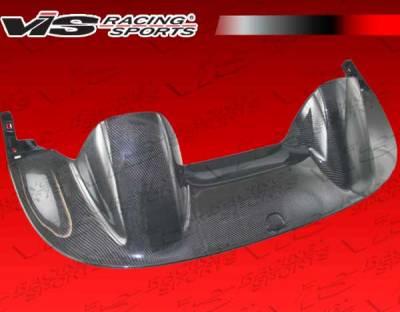 S2000 - Body Kit Accessories - VIS Racing - Honda S2000 VIS Racing CR Carbon Fiber Tonneau Cover - 00HDS2K2DCR-040C