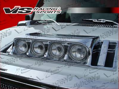 H2 - Body Kit Accessories - VIS Racing - Hummer H2 VIS Racing Bossini Driving Light Mounting Housing - 03HMH24DBOSS-041