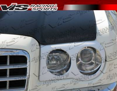300 - Body Kit Accessories - VIS Racing - Chrysler 300 VIS Racing VIP Headlight Cover - 05CY300C4DVIP-081