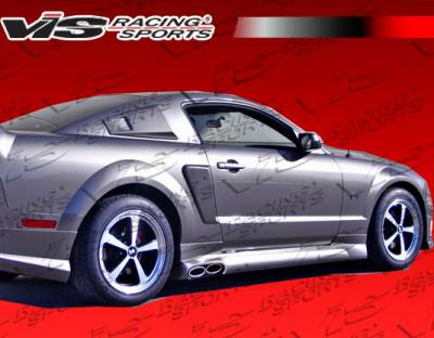Mustang - Body Kit Accessories - VIS Racing - Ford Mustang VIS Racing Stalker-2 Side Scoop - 05FDMUS2DSTK2-019