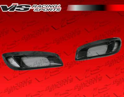 Genesis - Body Kit Accessories - VIS Racing - Hyundai Genesis VIS Racing Pro Line Bumper Garnish - 10HYGEN2DPL-031C