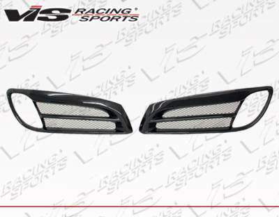 Genesis - Body Kit Accessories - VIS Racing - Hyundai Genesis VIS Racing VIP Carbon Fiber Foglight Garnishes - 10HYGEN2DVIP-031C
