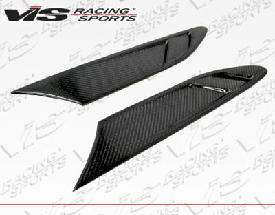 FRS - Body Kit Accessories - VIS Racing - Scion FRS VIS Racing FS Style Carbon Fiber Fender Vents - 13SNFRS2DFS-037C