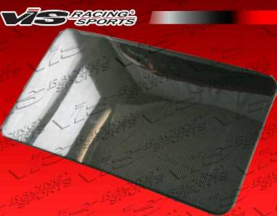 3 Series 4Dr - Body Kit Accessories - VIS Racing - BMW 3 Series VIS Racing OEM Style Carbon Fiber Sun Roof Cover - 84BME302DOE-030C