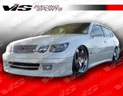 GS - Body Kit Accessories - VIS Racing - Lexus GS VIS Racing Alfa Eye Lid - Fiberglass - 4PC - 98LXGS34DALF-021