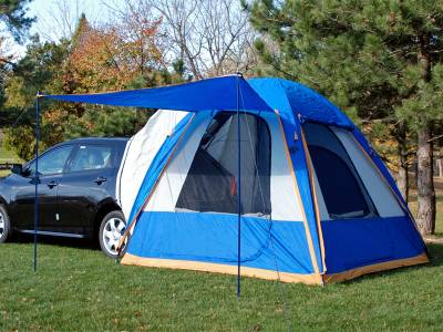SUV Truck Accessories - Truck Tents - Napier - Mitsubishi Lancer Napier Sportz Dome-To-Go Truck Tent - 86000