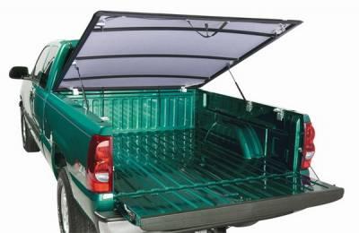 Suv Truck Accessories - Tonneau Covers - Lund - Nissan Titan Lund Genesis Hinged Tonneau