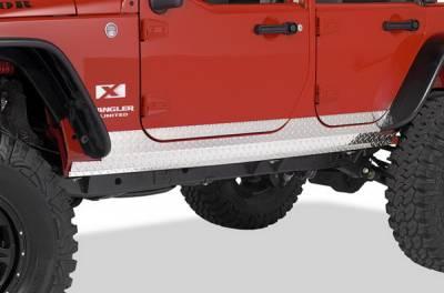 Land Cruiser - Body Kit Accessories - Warrior - Toyota Land Cruiser Warrior Side Plate