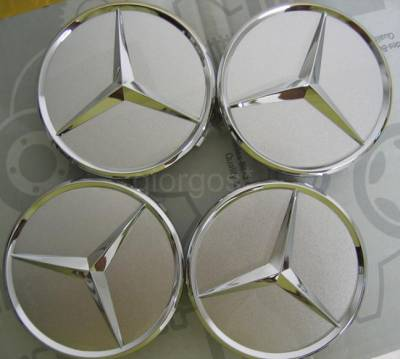 Accessories - Wheel Caps - Mercedes - AMG Wheel Caps Chrome