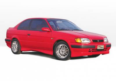 Tercel - Body Kits - Wings West - Toyota Tercel Wings West M-Type Complete Body Kit with Lip Spoiler - 5PC - 890036