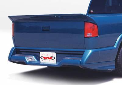 S10 - Body Kits - VIS Racing - Chevrolet S10 VIS Racing Custom Style Full Body Kit with OEM Bumper - 890043