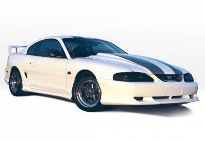 Mustang - Body Kits - Wings West - Ford Mustang Wings West Custom Style Complete Body Kit - 4PC - 890113