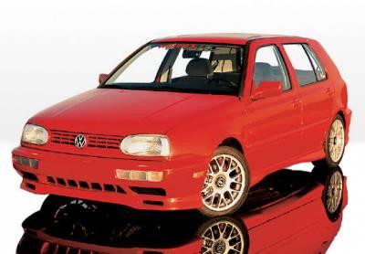 Golf - Body Kits - VIS Racing - Volkswagen Golf VIS Racing Custom Style Complete Body Kit - 4PC - 890143