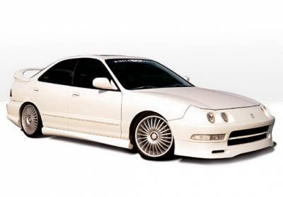 Integra 4Dr - Body Kits - Wings West - Acura Integra 4DR Wings West Type II Complete Body Kit - 4PC - 890155