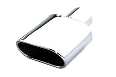 Exhaust - Exhaust Tips - AA - Universal - Oval Tip 2.25