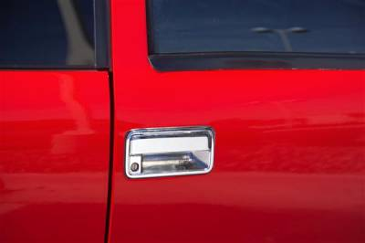 Suv Truck Accessories - Tail Gate Lock - Putco - Ford F150 Putco Liquid Tailgate Handle - 90116