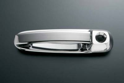 All Sales - All Sales Billet Door Handle Left Side with Lock and Right Side without Lock - 401