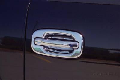 SUV Truck Accessories - Chrome Billet Door Handles - Putco - GMC Denali Putco Door Handle Covers - 400011