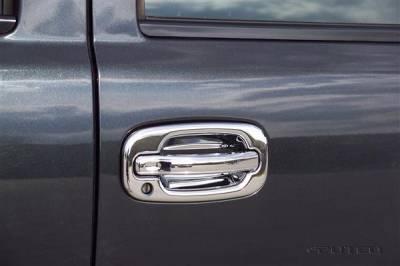 Suv Truck Accessories - Chrome Billet Door Handles - Putco - Chevrolet Avalanche Putco Door Handle Covers - 400012
