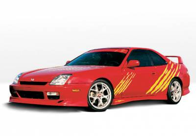 Prelude - Body Kits - VIS Racing - Honda Prelude VIS Racing Racing Series Complete Body Kit - 4PC - 890206