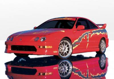 Integra 2Dr - Body Kits - VIS Racing - Acura Integra 2DR VIS Racing W-Type Complete Body Kit - 4PC - 890230
