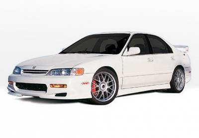 Accord 2Dr - Body Kits - Wings West - Honda Accord 2DR Wings West W-Type Complete Body Kit - 4PC - 890268