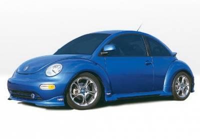 Beetle - Body Kits - Wings West - Volkswagen Beetle Wings West W-Type Complete Body Kit - 4PC - 890287