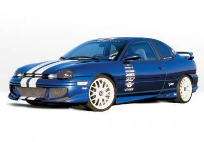 Neon 2Dr - Body Kits - VIS Racing - Dodge Neon VIS Racing Racing Series Complete Body Kit - 4PC - 890295