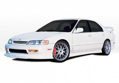 Accord 2Dr - Body Kits - VIS Racing - Honda Accord 2DR VIS Racing Touring Style Complete Body Kit - 4PC - 890315