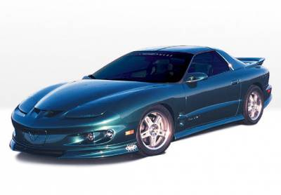 Firebird - Body Kits - VIS Racing - Pontiac Firebird VIS Racing W-Type Complete Body Kit - 5PC - 890324
