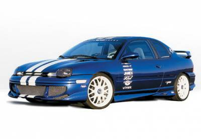 Neon 4Dr - Body Kits - Wings West - Dodge Neon 4DR Wings West Racing Series Complete Body Kit - 4PC - 890339