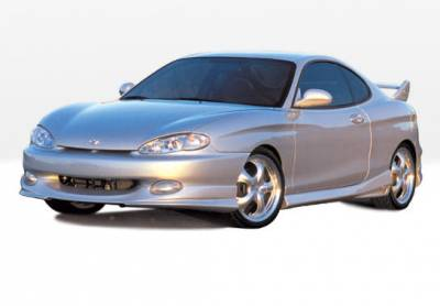 Tiburon - Body Kits - VIS Racing - Hyundai Tiburon VIS Racing W-Type Complete Body Kit - 4PC - 890369