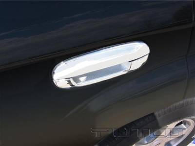 Suv Truck Accessories - Chrome Billet Door Handles - Putco - GMC Envoy Putco Door Handle Covers - 400041