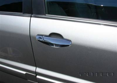 Suv Truck Accessories - Chrome Billet Door Handles - Putco - Chevrolet Equinox Putco Door Handle Covers - 400042