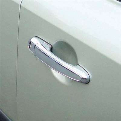 SUV Truck Accessories - Chrome Billet Door Handles - Putco - Lexus IS Putco Door Handle Covers - 400048