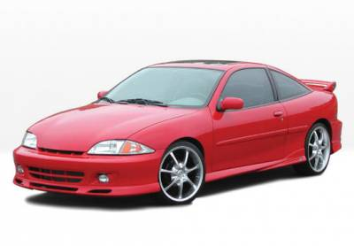 Cavalier 2Dr - Body Kits - VIS Racing - Chevrolet Cavalier 2DR VIS Racing W-Type Complete Body Kit - 4PC - 890438