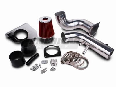 Air Intakes - Oem Air Intakes - AM Custom - Ford Mustang GT Cold Air Intake Kit - 14001