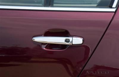 Suv Truck Accessories - Chrome Billet Door Handles - Putco - Toyota Camry Putco Door Handle Covers - 400091