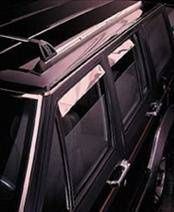 Accessories - Wind Deflectors - AVS - Chevrolet Suburban AVS Ventshade Deflector - Stainless - 4PC - 14049