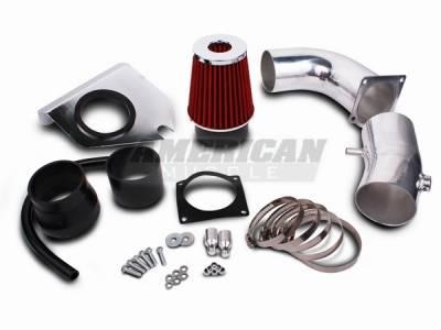 Air Intakes - Oem Air Intakes - AM Custom - Ford Mustang Cold Air Intake Kit - 14074