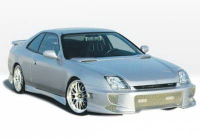 Prelude - Body Kits - Wings West - Honda Prelude Wings West Aggressor Type II Complete Body Kit - 4PC - 890465