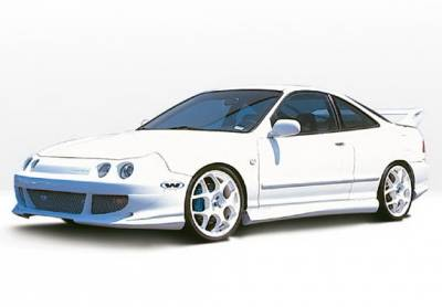 Integra 4Dr - Body Kits - Wings West - Acura Integra 4DR Wings West Bigmouth Complete Body Kit - 4PC - 890492