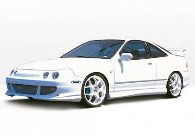 Integra 2Dr - Body Kits - VIS Racing - Acura Integra 2DR VIS Racing Bigmouth Complete Body Kit - 4PC - 890494