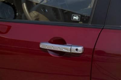 Suv Truck Accessories - Chrome Billet Door Handles - Putco - Lincoln Aviator Putco Door Handle Covers - 401005