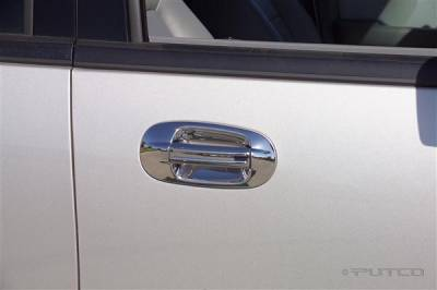 Suv Truck Accessories - Chrome Billet Door Handles - Putco - Ford Expedition Putco Door Handle Covers - 401006